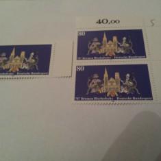 Germania 1987 blazon bremen mnh - Timbre straine, Nestampilat