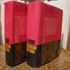 TRATAT ELEMENTAR DE MEDICINA INTERNA -O.FODOR, 2 VOLUME