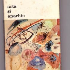CARTE EDITURA MERIDIANE-ARTA SI ANARHIE-EDGAR WIND - Carte Istoria artei