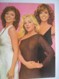 Film/Cinema-Carte postala actori Victoria Principal, Charlene Tilton, Linda Gray