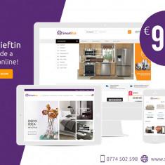 Magazin Online la numai 99 Euro - Site de Vanzare