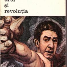 CARTE EDITURA MERIDIANE-ARTA SI REVOLUTIA-DAVID ALFARO SIQUERIOS - Carte Istoria artei