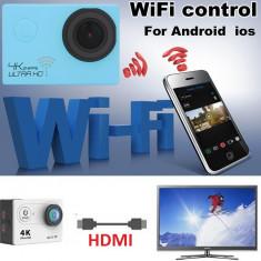 Camera sport WIFI 4K video FullHD 1080P, 12MPX - Camera Video Actiune, Card de memorie