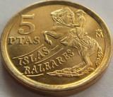 Moneda 5 Pesetas - SPANIA, anul 1997 *cod 1186 --- UNC