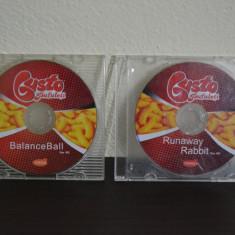 Joc PC - BalanceBall, Runaway Rabbit - MicroCD Gusto ( 2 CD-uri ) #75 - Jocuri PC Altele, Toate varstele
