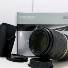 Tamron SP 70-300mm f/4-5.6 Di VC USD - montura Canon - Obiectiv DSLR Tamron, Tele, Autofocus, Canon - EF/EF-S, Stabilizare de imagine