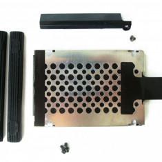 Caddy suport + cauciucuri + capac HDD hard disk Lenovo IBM X200 X200S X201 X201S