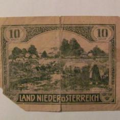 CY - 10 heller 1920 Austria Land NiederOsterreich notgeld