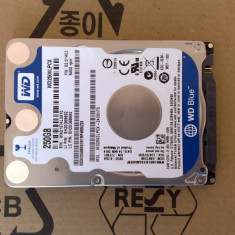 "Hard disk sata WESTERN DIGITAL 250g 2,5"" WD2500LPCX - Defect, 200-299 GB, 5400, SATA 3, Western Digital"