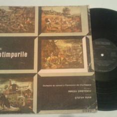 DISC VINIL - VIVALDI - ANOTIMPURILE - Muzica Opera electrecord