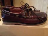 Cumpara ieftin Pantofi baieti mocasini TIMBERLAND originali marimea 35 piele naturala