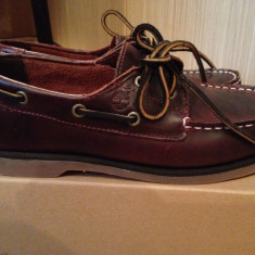 Pantofi baieti mocasini TIMBERLAND originali marimea 35 piele naturala