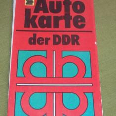 harta auto Germania comunista DDR