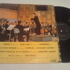 DISC VINIL - MINIATURI SIMFONICE - Muzica Opera electrecord