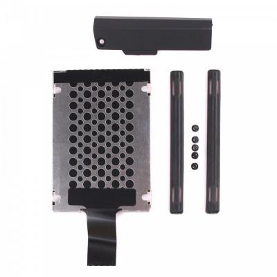 Caddy suport + cauciucuri + capac HDD hard disk Lenovo IBM Thinkpad T420s T430s foto