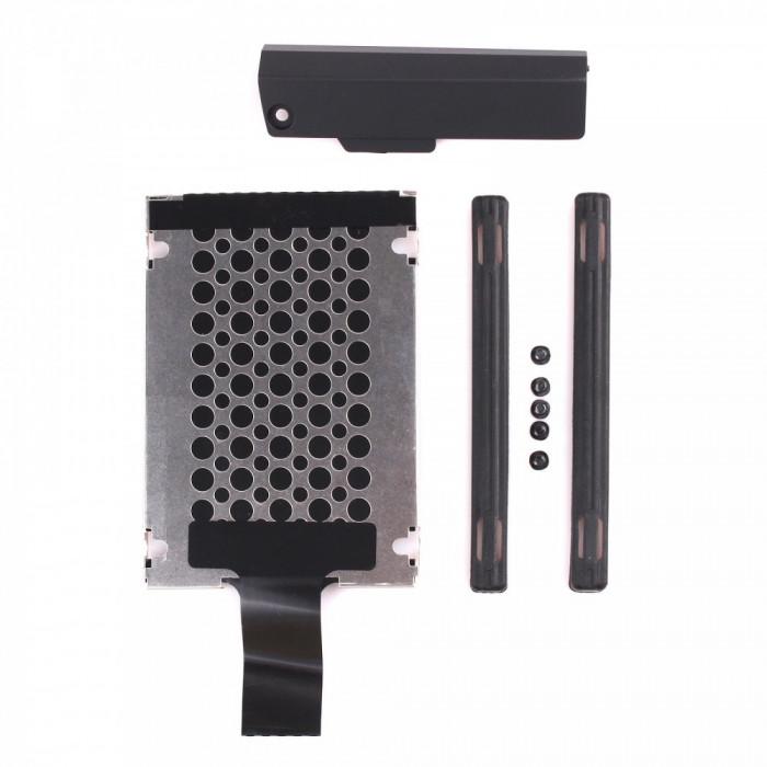 Caddy suport + cauciucuri + capac HDD hard disk Lenovo IBM Thinkpad T420s T430s