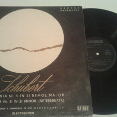 DISC VINIL - SCHUBERT/SIMFONIA 5 IN SI BEMOL - Muzica Opera electrecord