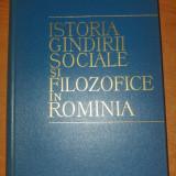 Istoria gandirii sociale si filozofice in romania 1964 - Istorie