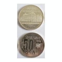 Rola 50 bucati, Fisic 50 bani 2015 COMEMORATIVA 10 ani de la denominare 2005 (2) - Moneda Romania