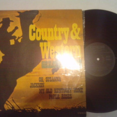 DISC VINIL - COUNTRY & WESTERN/GREATEST HITS - Muzica Country electrecord