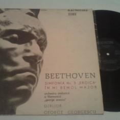 DISC VINIL - BEETHOVEN/SIMFONIA 3 EROICA - Muzica Opera electrecord