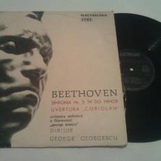 DISC VINIL - BEETHOVEN/SIMFONIA 5 IN SI BEMOL - Muzica Opera electrecord