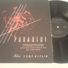 DISC VINIL - PAGANINI - Muzica Opera electrecord