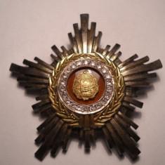 Ordinul Steaua Romaniei Clasa a III a RPR de ARGINT RARA