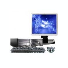 Pachet PC HP Compaq DC7700, Core 2 Duo E6300, 1.86Ghz, 2Gb DDR2, 80Gb, 8122 - Sisteme desktop cu monitor HP, Intel Core 2 Duo, 1501- 2000Mhz, 40-99 GB, 15 inch
