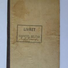 RARITATE! LIVRET DE SERVICIUL MILITAR DIN 1906 CU REZULTATELE TRAGERII LA TINTA