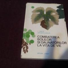 I MIRICA - COMBATEREA BOLILOR SI DAUNATORILOR LA VITA DE VIE