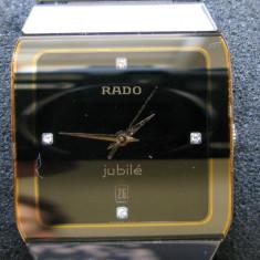 Rado Anatom Jubile tungsten + aur + 4 diamante ORIGINAL - Ceas barbatesc Rado, Lux - elegant, Ceramica, Analog