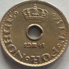Moneda 10 Ore - NORVEGIA, anul 1941 *cod 1808