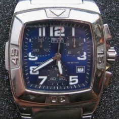 Cronograf Sector 230 - original - stare buna, Lux - sport, Quartz, Inox