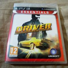 Joc Driver San Francisco, PS3, original si sigilat, 49.99 lei! - Jocuri PS3 Ubisoft, Curse auto-moto, 12+, Single player