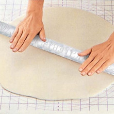Rola acril pentru aluat biscuiti, model 45
