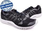 Adidasi barbat Adidas Adipure 360.2 - adidasi originali - running - alergare, 39 1/3, 40, Negru, Textil