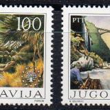 JUGOSLAVIA 1986, Fauna - Pasari, serie neuzata, MNH, Iugoslavia, Nestampilat