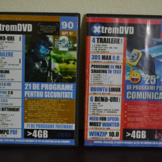 Doua DVD-uri XtremePC ( DEMO, PROGRAME - Decembrie 2005, Septembrie 2007 ) #71 - Revista IT