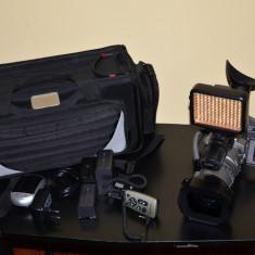 Camera semiprofesionala SONY VX 2100 cu wide - Lampa Camera Video