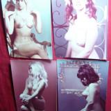 Set 4 Fotografii vechi Artistice - Nuduri -anii '60, 16, 3x11, 5 cm - Fotografie