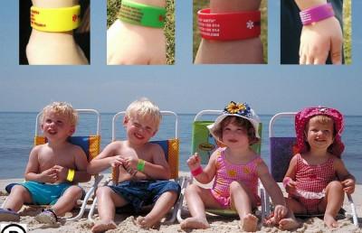 bratara siguranta personalizata copii la mare munte excursii vacante  parc mall foto