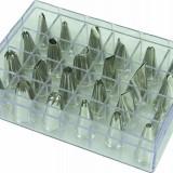 Set 24 duiuri inox, forme diferite