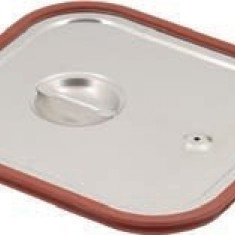 Capac inox cu silicon GN 1 / 1