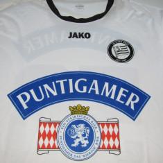 Tricou fotbal SK STURM GRAZ (Austria) - Tricou echipa fotbal, Marime: XL, Culoare: Din imagine, De club, Maneca scurta
