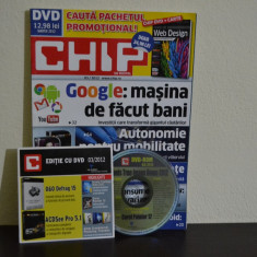 Revista Chip + DVD ( Martie 2012 ) #72 - Revista IT