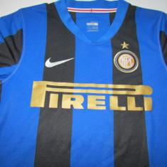 Tricou Nike fotbal - INTERNAZIONALE MILANO (marime copil) - Tricou echipa fotbal, Marime: L, Culoare: Din imagine, De club, Maneca scurta