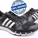 Adidasi barbat Adidas Adipure 360.2 - adidasi originali - running - alergare - Adidasi barbati, Marime: 40 2/3, Culoare: Negru, Textil