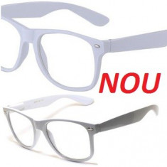 Wayfarer ochelari lentile transparente pt dioptrii - Ochelari stil wayfarer, Unisex