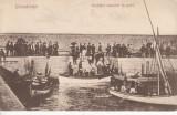 CONSTANTA, SERBARI NAUTICE IN PORT, CIRCULATA, STAMPILA DEC.'926, Printata